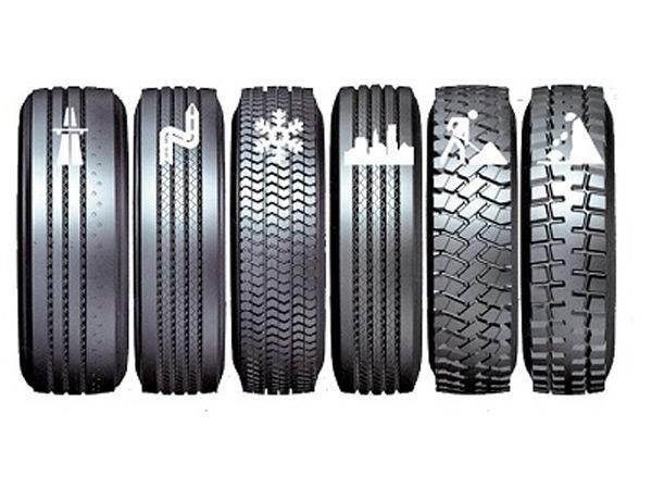 Грузовые шины - их виды, параметры, эксплуатационные характеристики