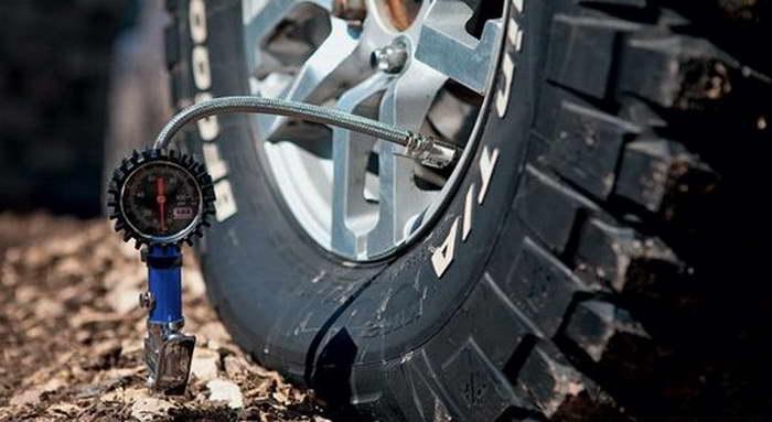 Какое давление должно быть в шинах квадроцикла?