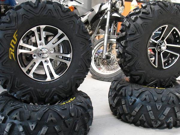 Как правильно хранить шины для квадроцикла?